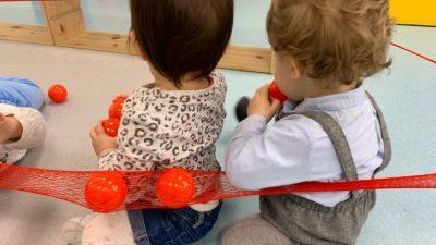 Protegido: Aula de bebes: Instalación roja