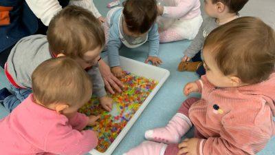 Protegido: Aula bebés: el tacto y la vista ¡que sensación!