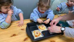 Protegido: AULA DE MARIÁN: cocinamos pizza pequeñas con forma de gato