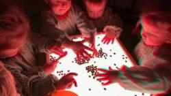 Protegido: AULA DE CAROLINA:  mesa de experimentación y mesa de luz con café